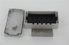 TT立式全混合日粮饲料制备机接线盒