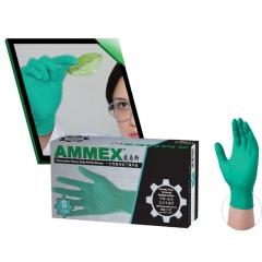 一次性丁腈手套 (耐用型)绿色 小号(S)