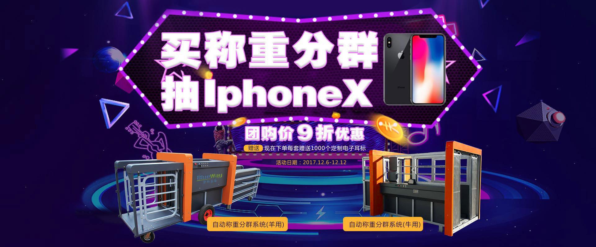 买称重分群,抽送IphoneX