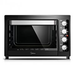 Midea/美的搪瓷内胆电烤箱家用烘培38升大容量
