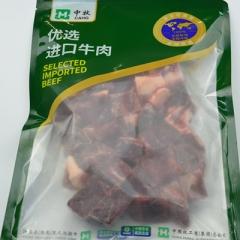 牛肉粒500克