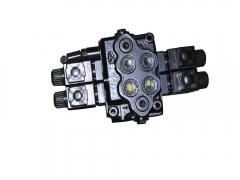 Husky5-16立方、Labrador5-16立方卧式全混合日粮制备机两路电磁分配器