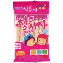 韩国进口 zek 芝士鳕鱼肠 105g 4袋
