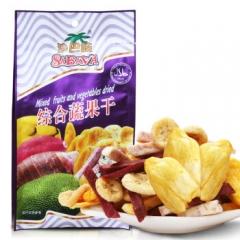 越南进口 sabava沙巴哇综合蔬果干 100g 5袋