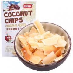 泰国进口 克恩兹原味香脆椰子片40g