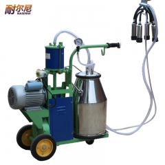 耐尔尼 挤奶机 奶牛 奶羊挤奶器 奶牛挤奶机 活塞式可移动牛用挤奶机 兽用器械 牛用(单手柄)