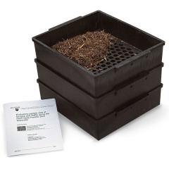 宾州筛-滨州筛-TMR饲料分析筛-3层饲料分析筛-草料分析筛-滨州颗粒分离筛