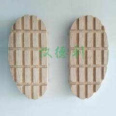 牛用修蹄木块、木鞋 一只