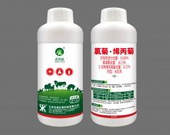 畜牧缘  16.86%氯菊·烯丙菊EW 畜牧缘 100克/瓶*100瓶/箱
