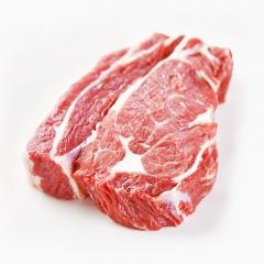 新疆巴尔鲁克新鲜冷冻排酸牛排 眼肉+菲力家庭装8片1400g非腌制