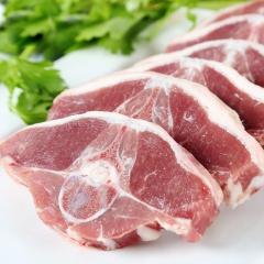 巴尔鲁克新疆羊肉新鲜羔羊蝴蝶排草原生鲜特产清真羊肉500g*2