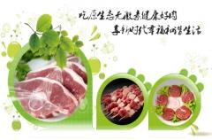 巴尔鲁克牛排套餐8片西冷菲力+巴尔鲁克蝴蝶羊排+内蒙古新鲜羔羊 羊肉串半成品·