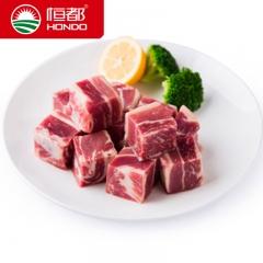 澳洲牛腩块2000g 澳洲进口生鲜牛肉 排酸冷冻牛肉