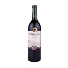 美国蒙大菲木桥金粉黛葡萄酒原瓶进口750ml红酒干红