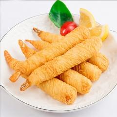 千丝万缕面线虾 精选白虾仁鱿鱼泥炸大虾虾类制品海鲜小吃2袋