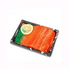 进口冰鲜三文鱼刺身中段 三文鱼刺身新鲜三文鱼生鱼片送芥末酱油