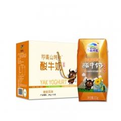 青藏祁莲牦牛酸奶(菊粉风味)